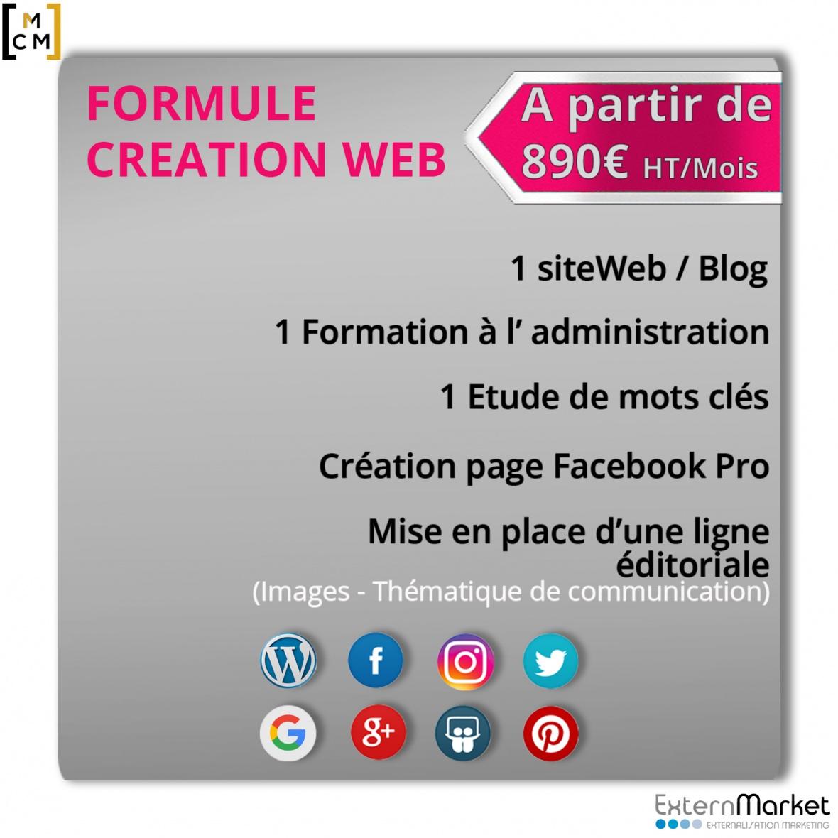Community Management Création Web